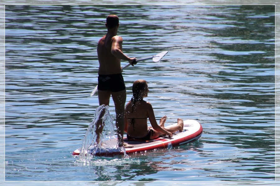Wassersport Stand Up Paddling SUP Bodensee